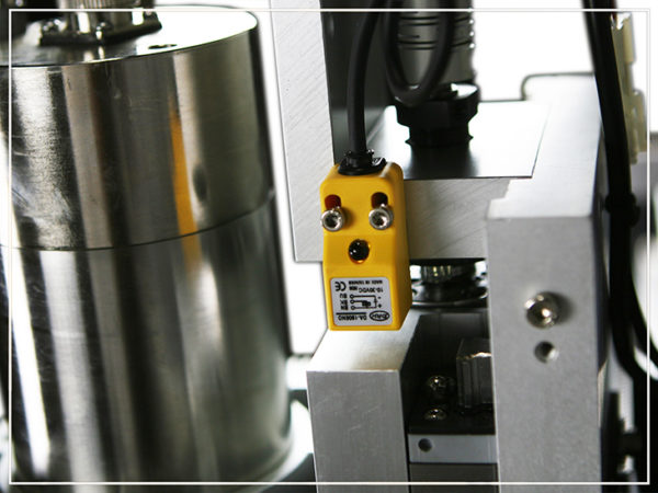 These magnetic sensors act as the CNC's eyes. They allow you to 'home' your machine so it knows where the spindle is in relation to the working envelope. Noticeably absent in many of our competitor's machines, these sensors prevent the gantry from colliding with the stops when you run it to the extent of its travel.