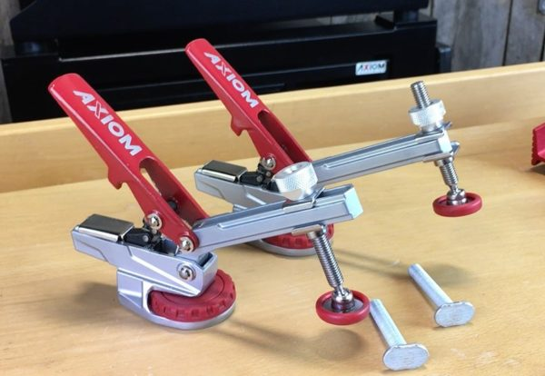 Axiom CNC Australia - clamps