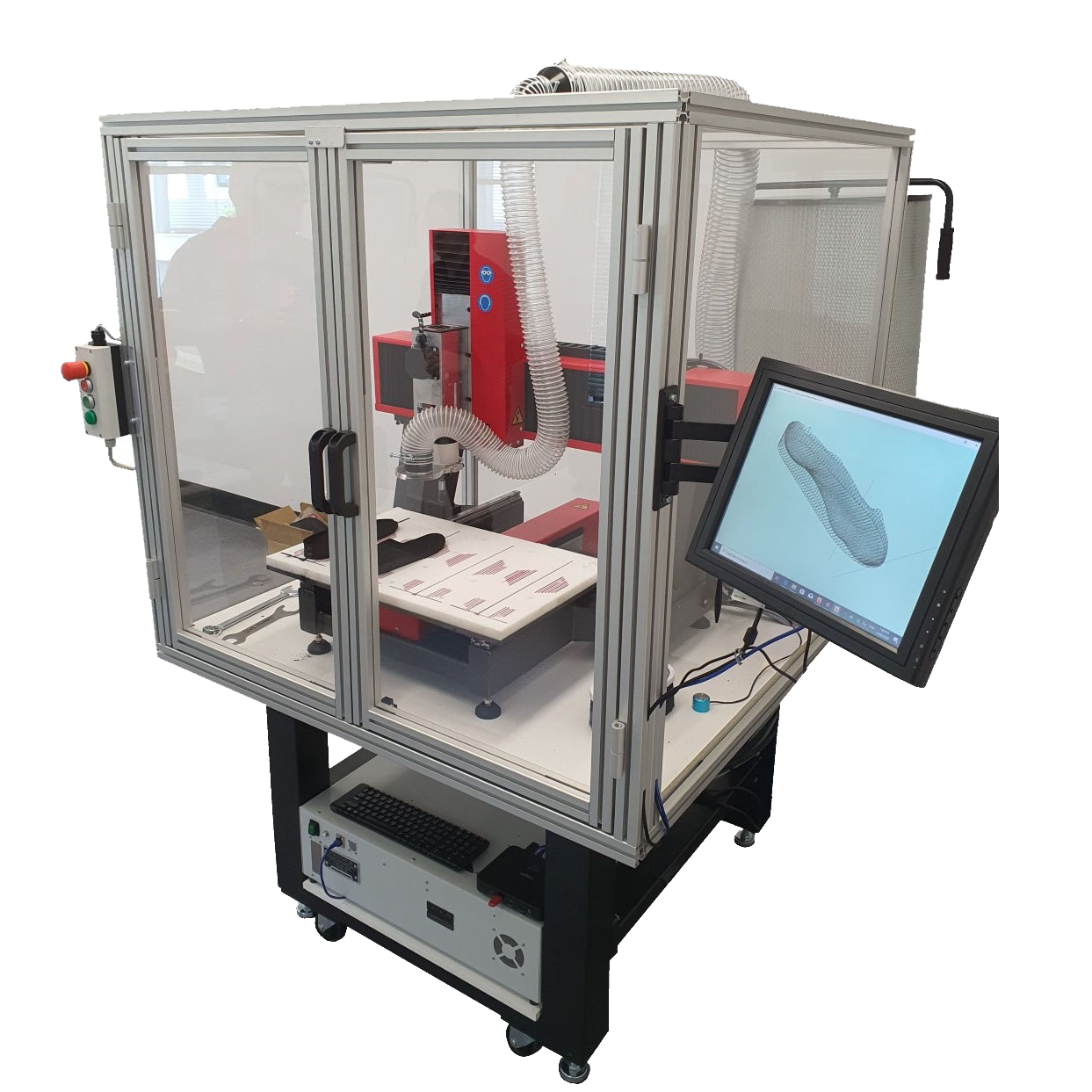 Symbiosis CNC Router Enclosure